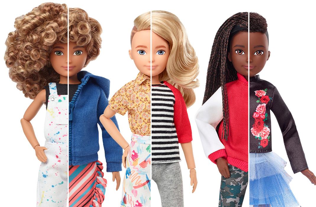 Mattel's gender neutral dolls