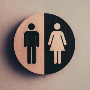 image of male/female bathroom signs